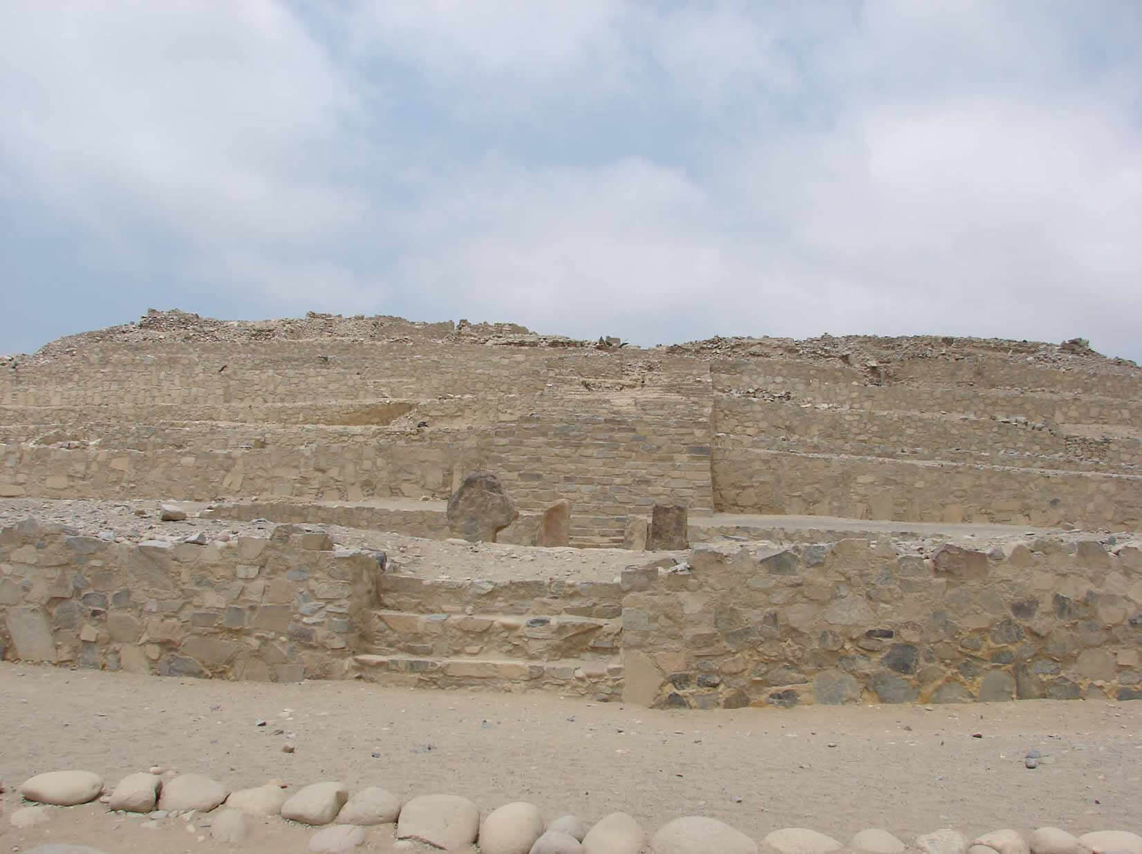 Caral Piramide Mayor